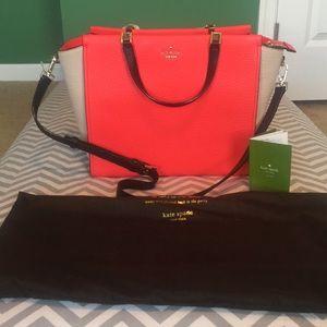 Kate Spade Chelsea square Hayden bag - never used